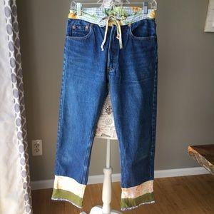 Bella Dahl Button Fly Levi's Jeans